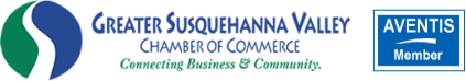 Member of the Greater Susquehanna Valey Chamber of Commerce and Aventis